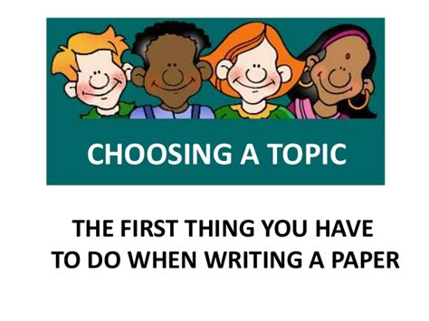 selecting a topic for a research paper finding a topic for your research paper