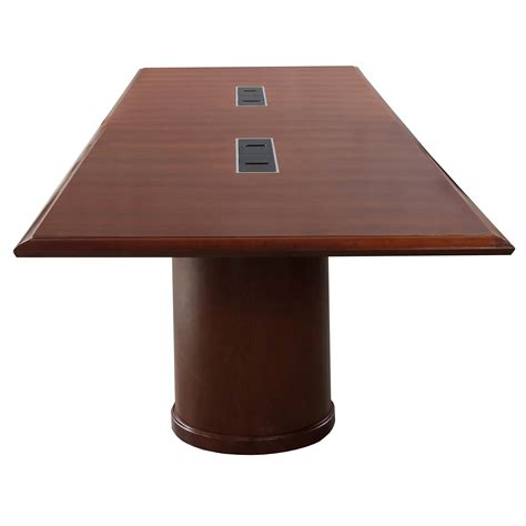 Steelcase Conference Table Steelcase Used Wood Veneer 12ft Conference Table Medium Cherry National Office Interiors And