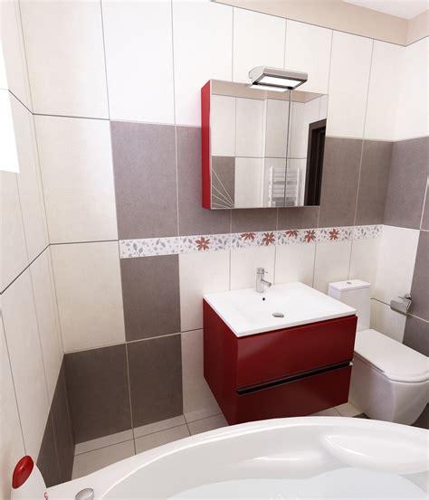 badezimmer fliesen rot grau bilder 3d interieur badezimmer rot grau baie damasco 5