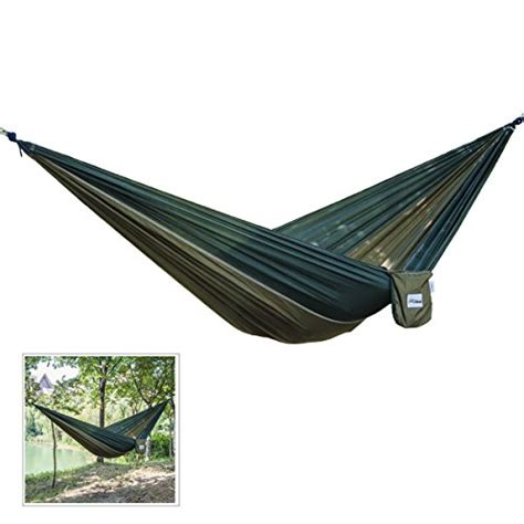 2 person hammock swing hqdeal portable 2 person parachute nylon fabric cing