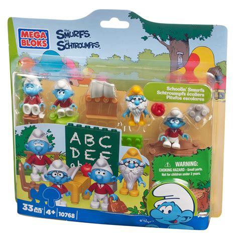 Diskon Mega Bloks Smurf 10768 Smurfs School mega bloks smurf schoolin smurfs play set 10768 toys