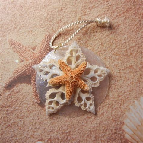 starfish seashell chrisymas ornament christmas pinterest