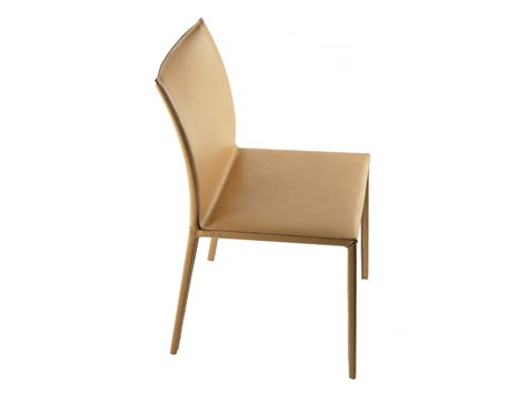 sedie zanotta sedia in pelle lea 2083 84 by zanotta design roberto