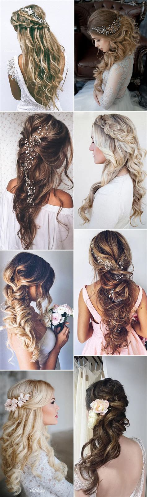 Wedding Hairstyles Half by 20 Amazing Half Up Half Wedding Hairstyle Ideas
