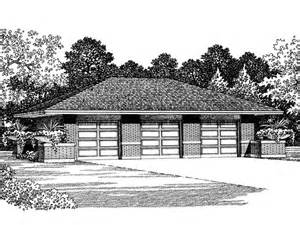 3 car garage plans three car garage plan with hip roof