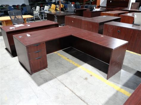 used l shaped desk used l desk used desks office furniture warehouse