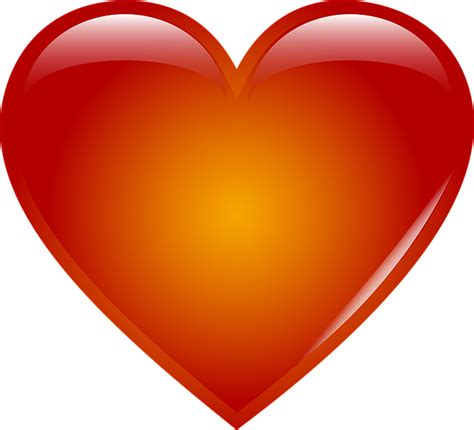 jantung hati cinta gambar vektor gratis  pixabay