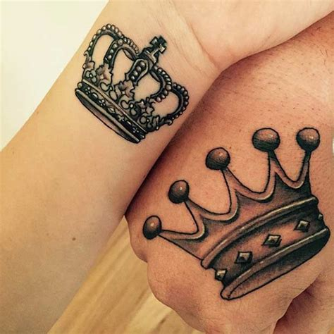 king crown tattoo design 51 king and tattoos for couples page 3 of 5 stayglam