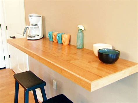 wall mounted table diy in the kitchen homefurniture org
