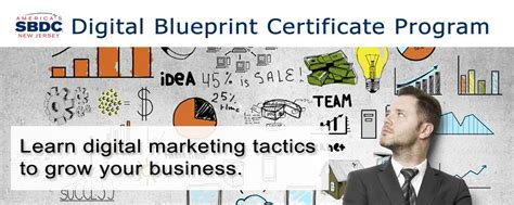 Digital Marketing Certificate Programs by Small Business Development Center At Raritan Valley