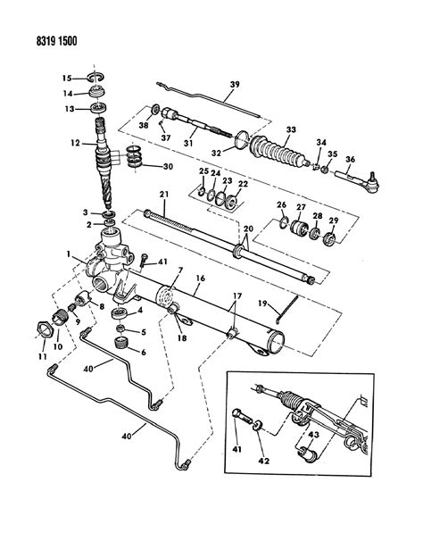 dodge parts diagrams 1988 dodge dakota parts diagram dodge auto parts catalog