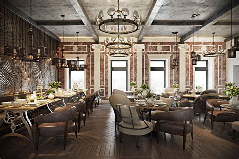 stunning restaurant interior design  chic  original