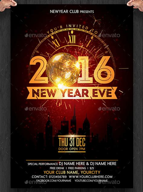 new year printable posters 28 new year invitation templates free word pdf psd