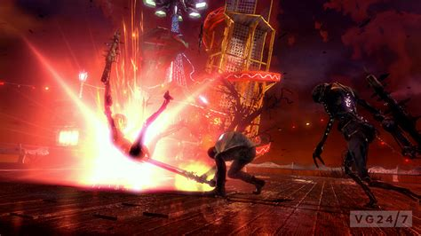 dante takes  big ugly enemies  latest devil  cry