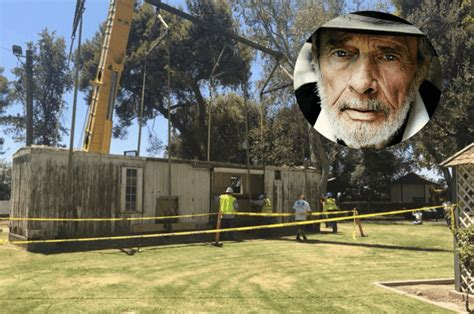 box car house merle haggard s boxcar home moves to california museum