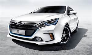 Byd Electric Car Sales Baic E260 Rises To 1 In China Electric Car Sales