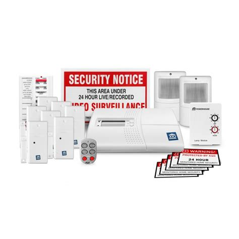 no monthly fee home security 19 system