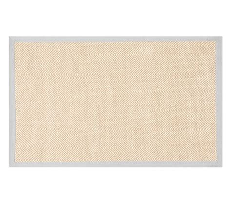Chenille Jute Thick Solid Border Rug Gray Pottery Barn Chenille Rug Pottery Barn