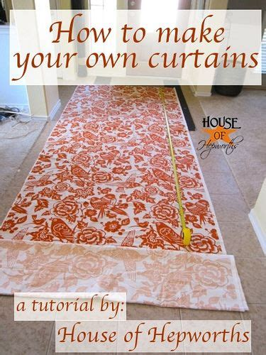 make your own curtains how to make your own curtains diy pinterest