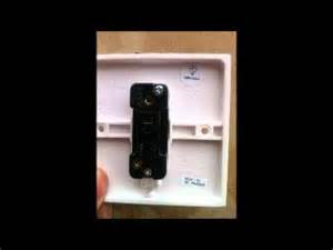 how to wire 1 gang 1 way switch lsbu youtube