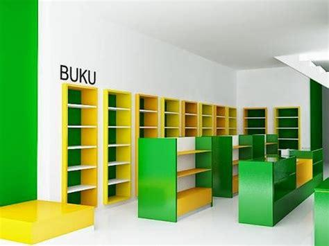 Rak Buku Untuk Toko Buku jasa gambar desain 2d 3d murah berpengalaman desain
