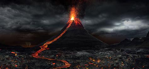 volcano background volcano background volcanic out background image