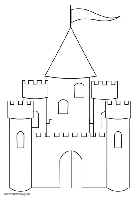 castle coloring pages pdf fairytale castle colouring page mummypages mummypages ie