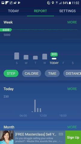 pedometer app for android 4 android pedometer apps that count your steps and track activity