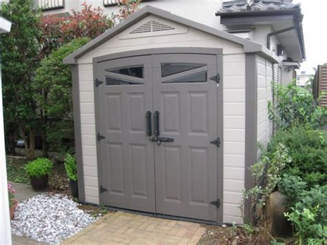 costco sheds costco 475748 keter 75 7 resin outdoor