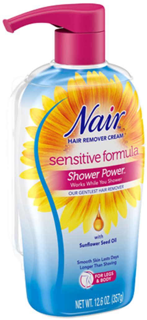 Nair Shower Power Sensitive by Shower Power Sensitive Hair Removal Nair