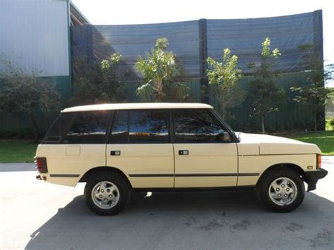 automobile air conditioning repair 1995 land rover range rover spare parts catalogs find used 1995 range rover 4x4 in boca raton florida united states