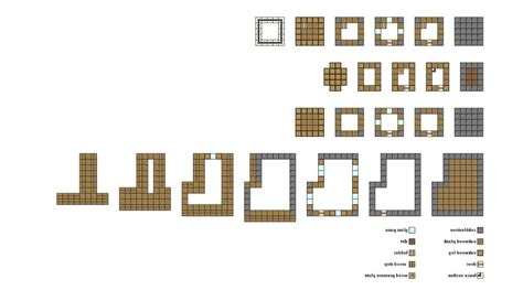floor plans for minecraft houses simple minecraft floor plans google search minecraft