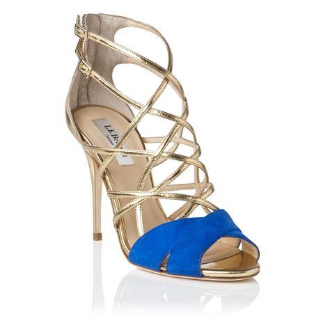 Sandal Wedges Lk Putih l k formal sandals in metallic lyst