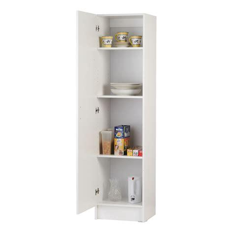 single door pantry cabinet bedford 450mm white 1 door pantry bunnings warehouse