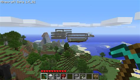 A Floating City rapture a floating city minecraft project