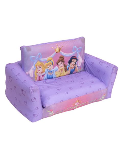 disney princess couch bed sofa click image zoom living room chairs