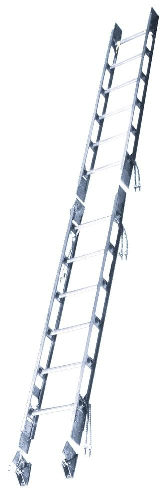 sectional ladder calico ladders max 04 aluminum sectional ladder