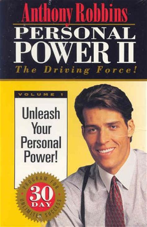 the personal of books personal power ii by anthony robbins reviews discussion