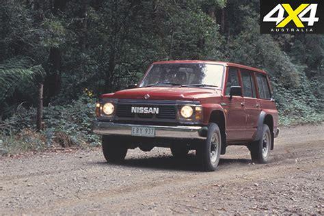 nissan patrol 1990 road nissan patrol history