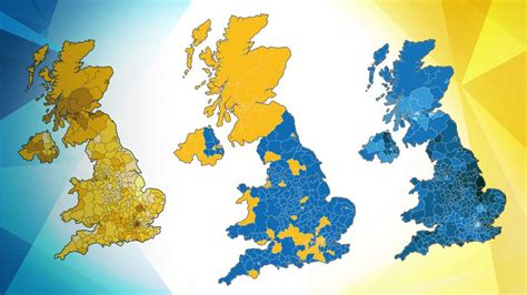 map uk remain leave this is what britain looks like after eu vote happy sad