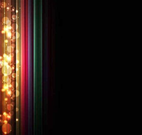 wallpaper hitam neon fundo de efeito de luz colorida de fundo vector free