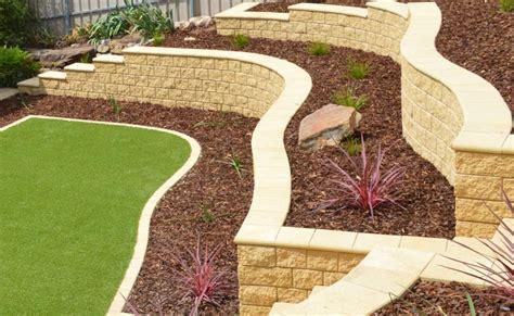 boral garden wall range of retaining wall blocks available in adelaide sa
