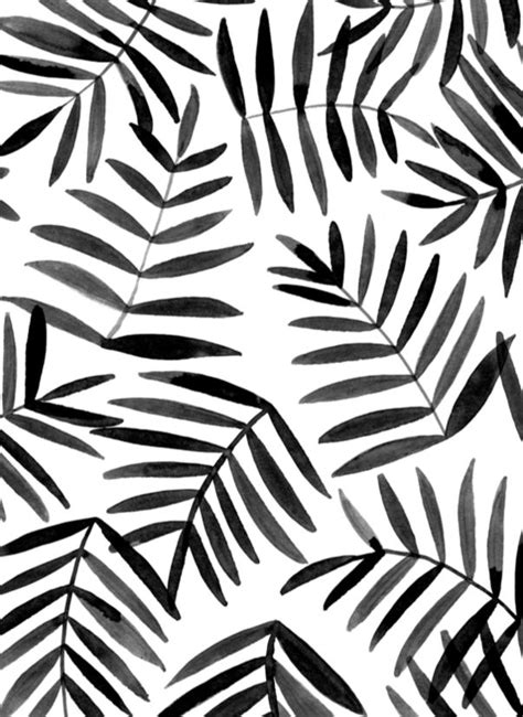 design pattern c black leaves ink pattern pattern pinterest black