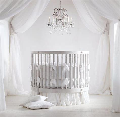 Ellery Round Crib Mattress Cribs Bassinets Circular Baby Crib