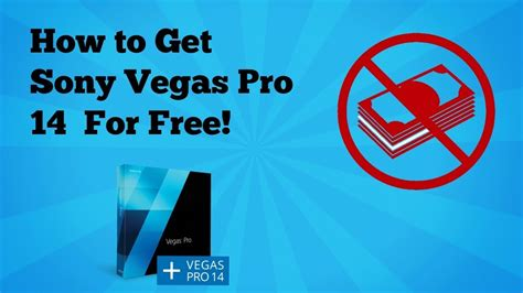 get pro how to get sony vegas pro 14 for free for windows 10