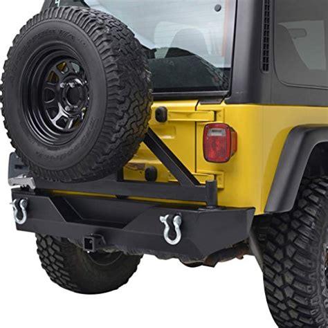 Jeep Tire Carrier Jeep Wrangler Tj Rear Bumpers Tj Jeep Rear Bumper And