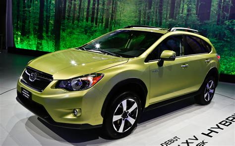 subaru hybrid subaru crosstrek hybrid performance concept coming to