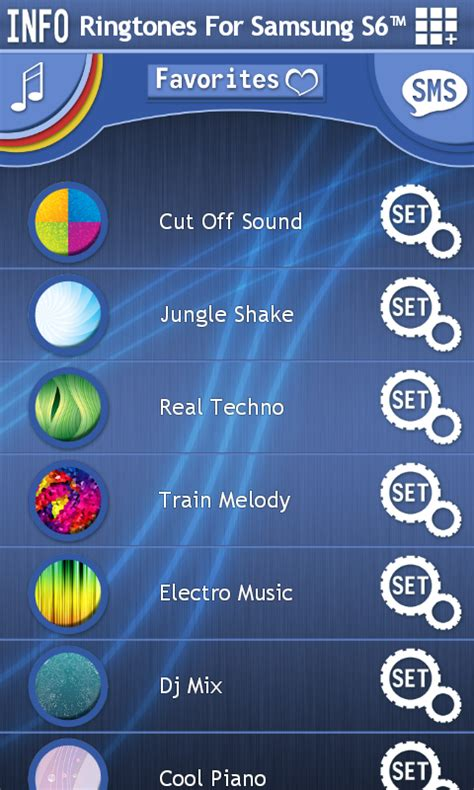 free ringtones app for android phones ringtones for samsung s6 free app android freeware