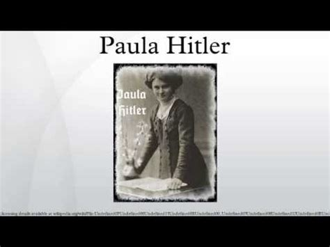 biography of adolf hitler in marathi paula hitler