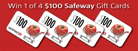 Safeway Gift Card Deal - 100 safeway gift card giveaway closed super safeway